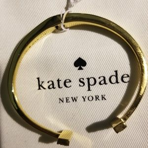 kate SPade gold and clear tiny stones